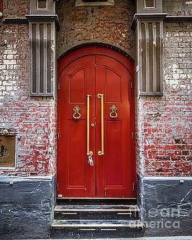 Big Red Doors by Perry Webster