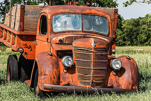 Big Red International Truck by Steven Bateson