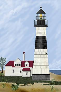 Big Sable Michigan by Anne Norskog