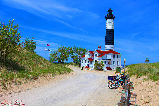 Big Sable Point Lighthouse by Michael Rucker