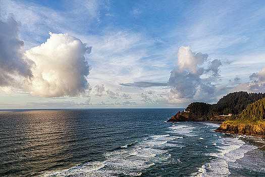 Big Skies over the Oregon Coast by Andrew Soundarajan