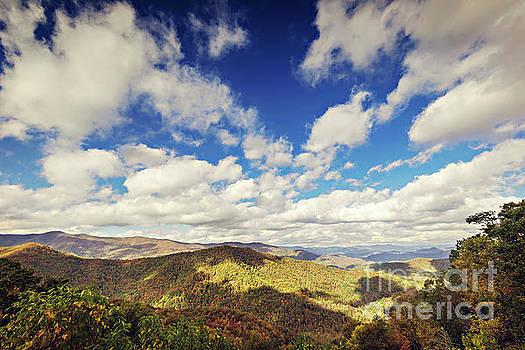 Big Sky Mountain View by Joan McCool