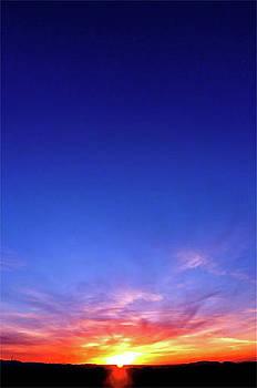 Big Sky Sunset by Terry Medaris
