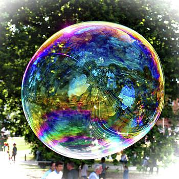 Big Soap Bubble by Jeremy Hayden