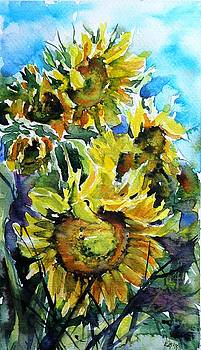 Big sunflowers by Kovacs Anna Brigitta