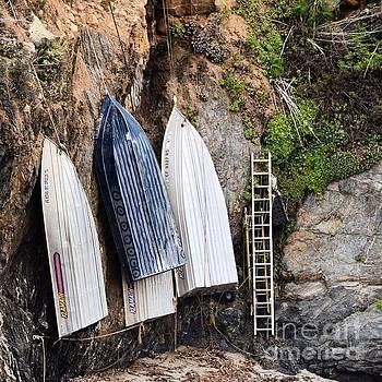 Big Sur Boats by Jeffrey Hubbard
