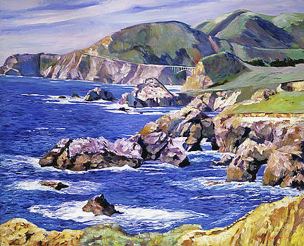 Big Sur California Coast by David Lloyd Glover
