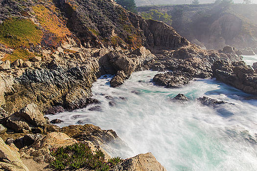 Big Sur coastline view point by Jingjits Photography