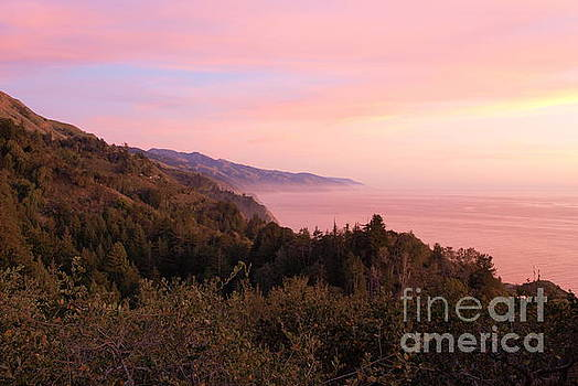 Big Sur sunset by P W