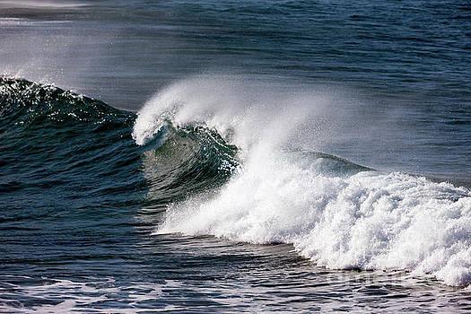 Big Surf, Great Ocean Road, Australia by John Gaffen