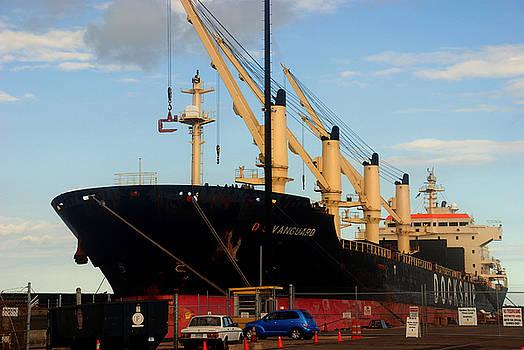 Susanne Van Hulst - Big Tanker in the Harbor