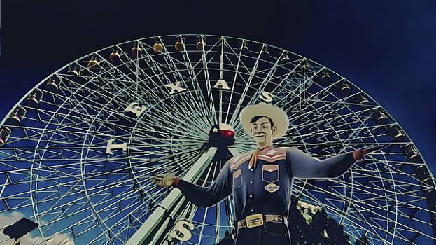Big Tex n the Texas Star by Philip A Swiderski Jr