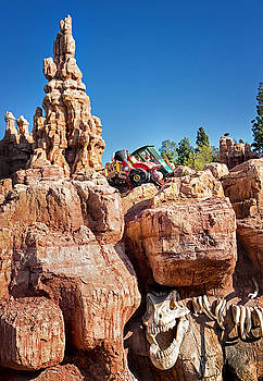 Big Thunder Railroad Engine No.3 - October 21, 2015 by Todd Young