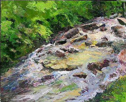 Big Timpson Creek by Albert Fendig