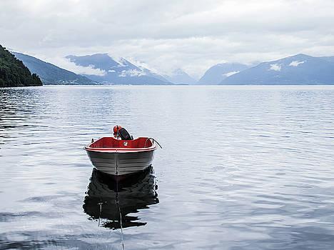 Big Water Little Boat by Nigel Jones
