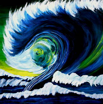 Big Wave by Eberhard Schmidt-Dranske