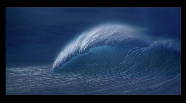 Big Wave painting by Thomas Futyna