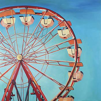 Big Wheel in a Carnaval by Atelier B Art Studio