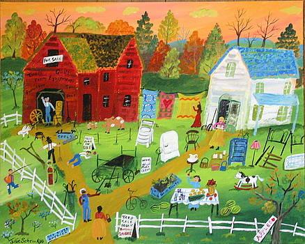 Big Yard Sale by Julie Schronk