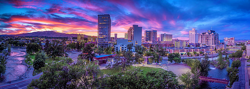 Biggest Little Sunset by Tony Fuentes