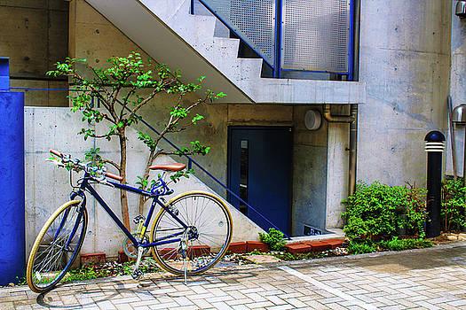 Bike in Tokyo by Leslie Trotter