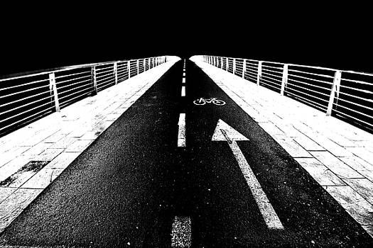 Bike lane bridge by Ivan Slosar
