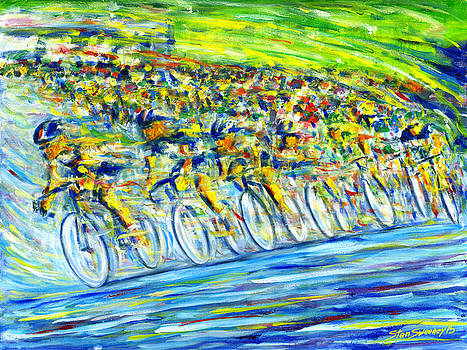 Bike Race by Stan Sweeney