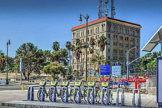 Bike Rental Rack San Pedro by David Zanzinger
