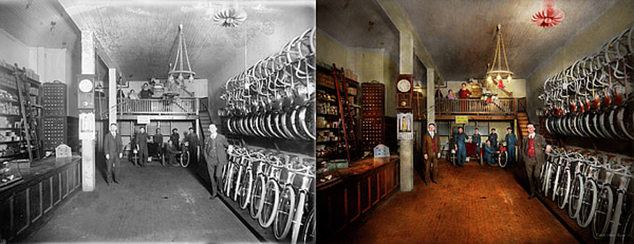 Bike - Store - Haverford Cycles 1919 - Side by Side by Mike Savad