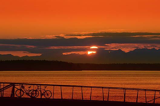 Bike Sunset by Jason Butts