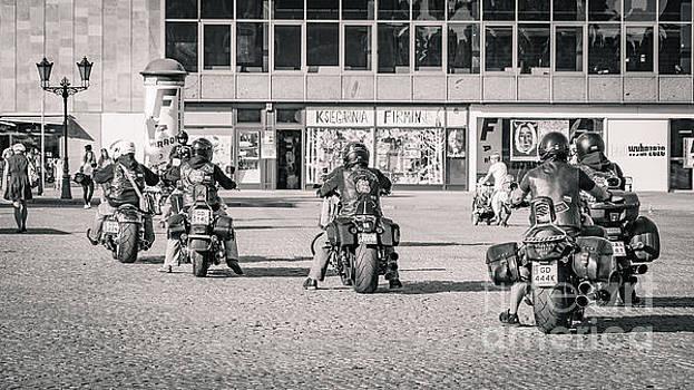Mariusz Talarek - Bikers in Gdansk BW
