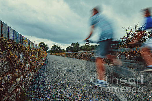 Marc Daly - Bikes in motion near Durrow 1