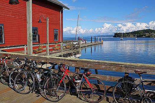 Bikes on the Wharf by Rick Lawler