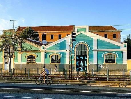 Biking in Lisboa by Ty Agha