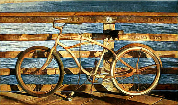 Karyn Robinson - Biking to the Beach