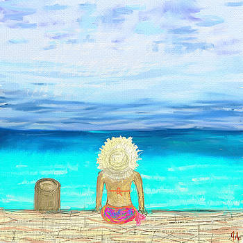 Bikini On The Pier by Jeremy Aiyadurai