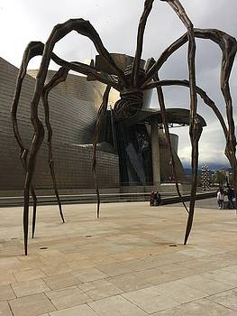 Bilbao Spider by Rosemary Nagorner