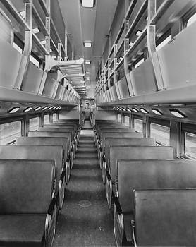 Chicago and North Western Historical Society - Bilevel Passenger Car #47 - 1959