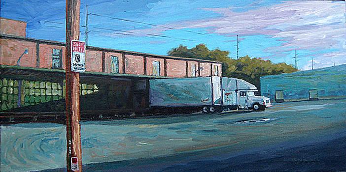 Bill Schmidt warehouse by Dale Knaak