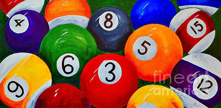 Billiard Balls  by Herschel Fall