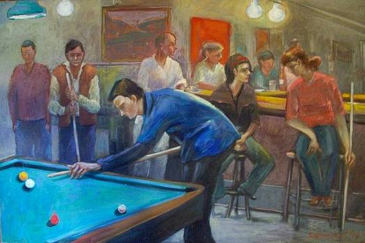 Billiard  by George Siaba