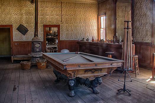 Guy Shultz - Billiard Table