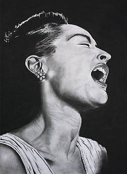 Billie Holiday  by Abraham Teshome