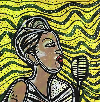 Billie Holiday by Gdm