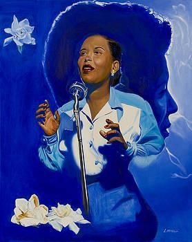 Billie Holiday by Loretta McNair
