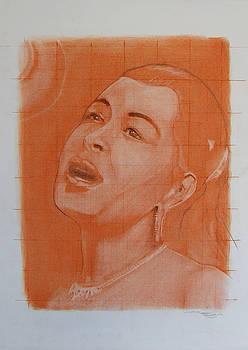Billie Holiday by Scott Shisler