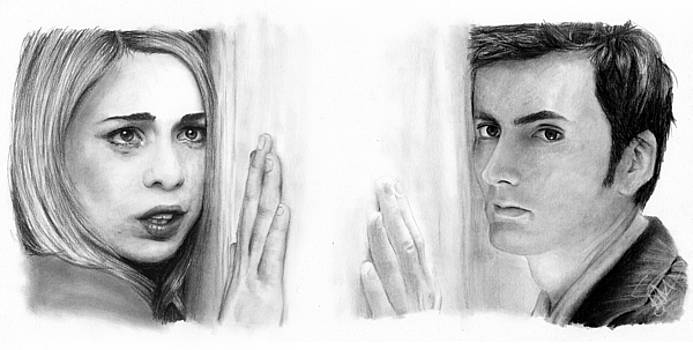 Billie Piper and David Tennant by Rosalinda Markle