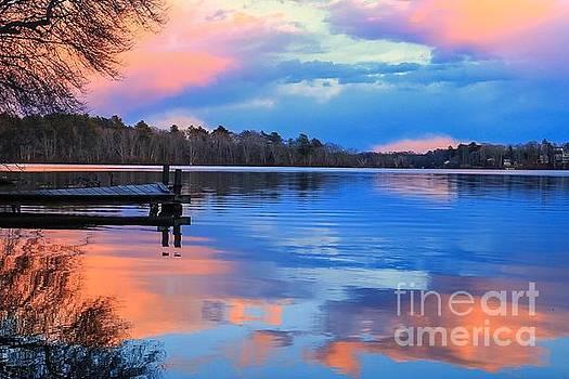 Billington Sea Sunset by Amazing Jules