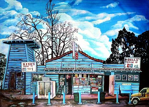 Bill's Drive-in by Elizabeth Eve King