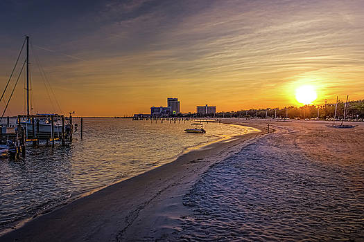 Barry Jones - Biloxi Beach Sunset
